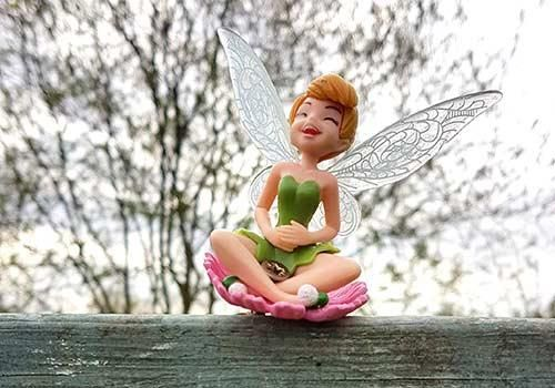 One of the fairies living in the garden