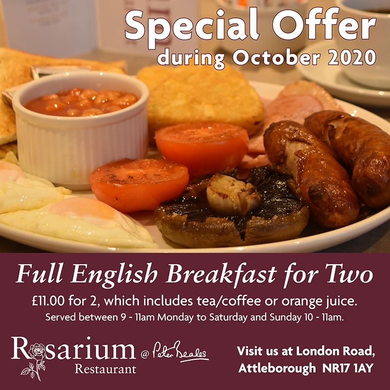 Full English Breakfast for Two