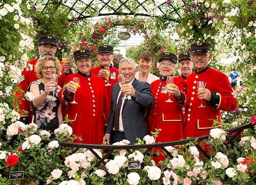 RHS Chelsea Flower Show 2018 Peter Beales Roses