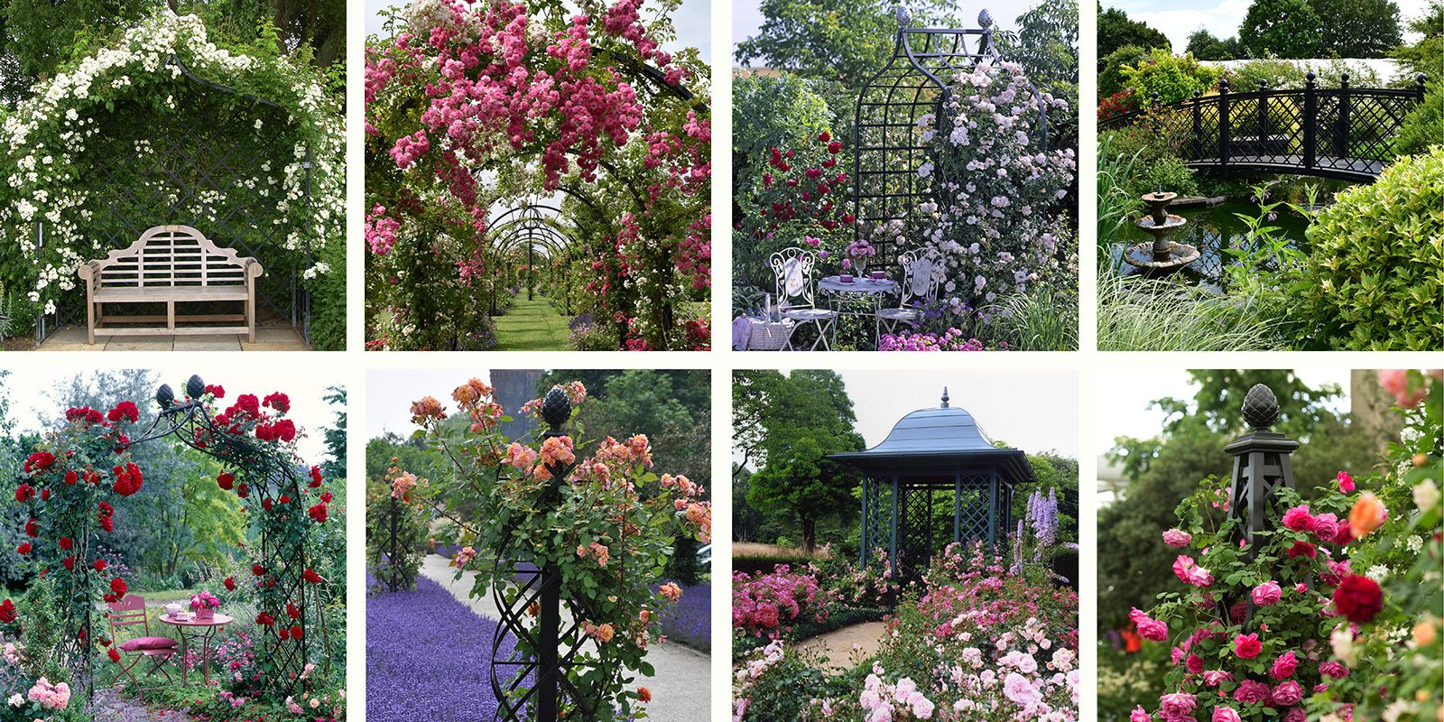 Rose supports and structures by Classic Garden Elements