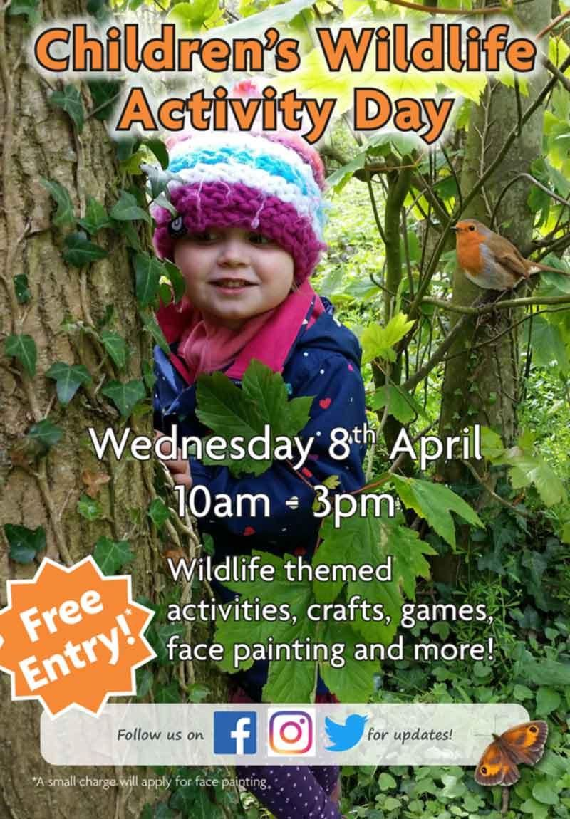 Children's Wildlife Activity Day at Peter Beales Roses