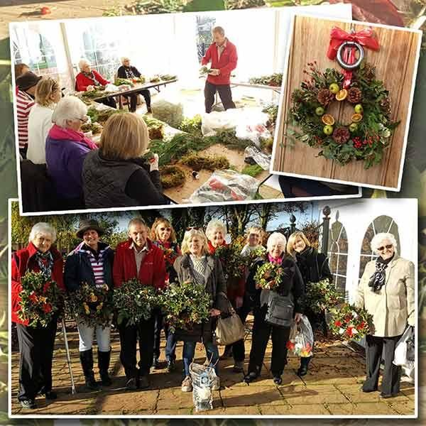 Christmas Holly Wreath Workshop