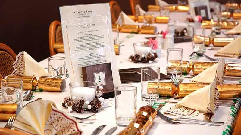 Peter Beales Tea Room Christmas Menu