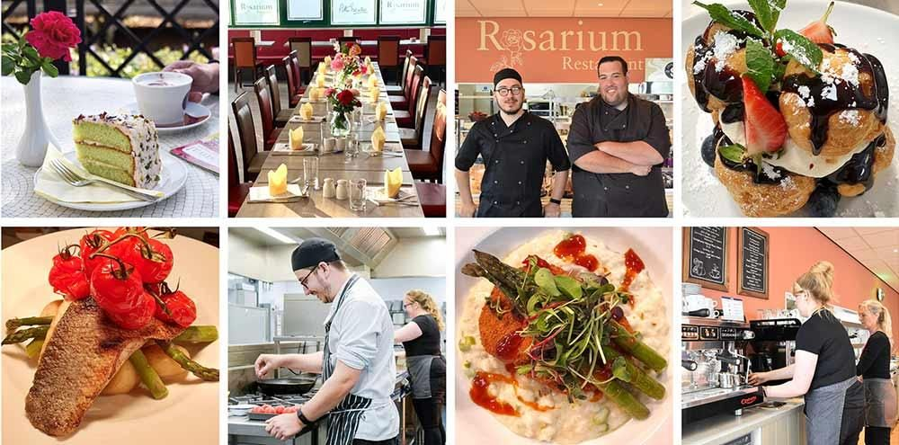 Rosarium Restaurant at Peter Beales Garden Centre