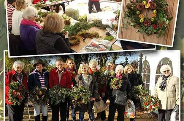 Holly Wreath Workshop