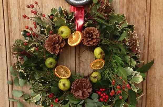 Holly Wreath Making Workshop